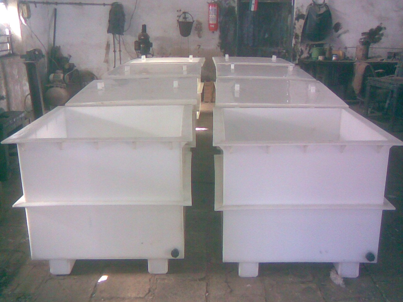 Pp Electroplating Tanks Pickling Tanks Manufacturers